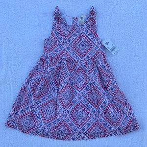 Oshkosh Bandana Print Dress Size 3T NWT